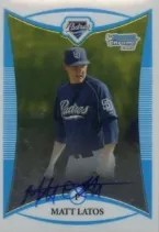 2008 Bowman Chrome Mat Latos