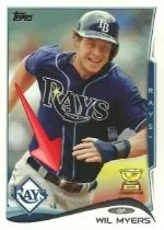 2014 Topps Series 1 Wil Myers Sparkle