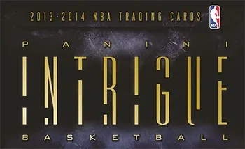 13/14 Panini Intrigue Basketball