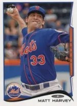 2014 Topps Series 1 Matt Harvey #33