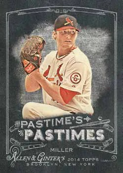 2014 Topps Allen & Ginter Pastime's Pastimes