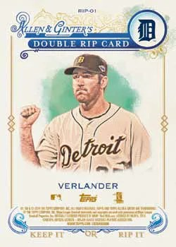 2014 Topps Allen Ginter Double Rip