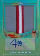 2013 Topps Chrome Jay Bruce Auto Patch