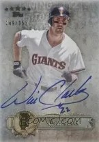 2013 Topps Five Star Will Clark