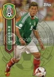 2014 Topps MLS Soccer Moreno