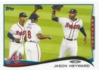2014 Topps Series 1 Jason Heyward Sp