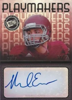 2014 Playmakers Mike Evans Auto