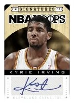 2013-14 Hoops Kyrie Irving Autograph