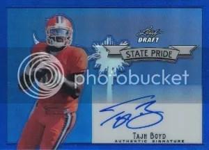 2014 Leaf Metal Draft State Pride Tajh Boyd