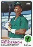 2014 Topps Archives 1973 Rickey Henderson