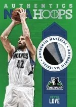 2013-14 Hoops Kevin Love Jersey Card