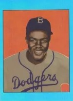 2013 Bowman Sterling Sapphire Jackie Robinson