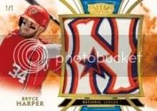 2014 Tier One Bryce Harper All Star Relic