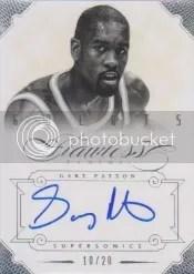 12/13 Panini Flawless Gary Payton Autograph