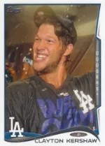 2014 Topps Series 1 Clayton Kershaw Sp
