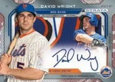 2014 Topps Series 1 David Wright Autograph