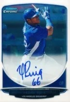 2013 Bowman Chrome Yasiel Puig