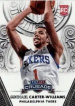 13/14 Panini Crusade Michael Carter-Williams RC Card