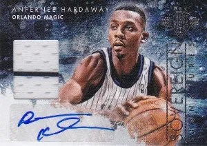 13-14 Panini Court Kings Sovereign Signatures Anfernee Hardaway Auto