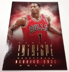 13-14 Panini Intrigue Derrick Rose Base