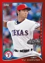 2014 Topps Yu Darvish Red Hot Foil