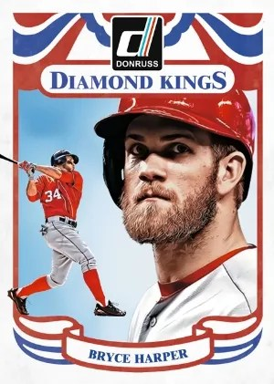 2014 Donruss Diamond Kings Bryce Harper