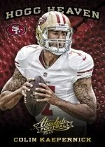 2013 Absolute Colin Kaepernick Hogg Heaven