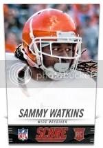 2014 Score Sammy Watkins RC