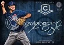 2014 Bowman Inception Kris Bryant