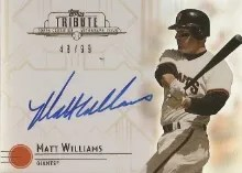 2014 Topps Tribute Matt Williams