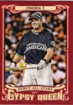 2014 Topps Gypsy Queen Evan Longoria