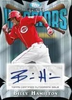 2014 Topps Finest Billy Hamilton Auto