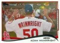 2014 Topps Series 1 Adam Wainwright Sp