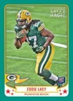 2013 Topps Magic Eddie Lacy Mini RC