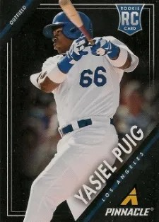 2013 Pinnacle Yasiel Puig RC Card