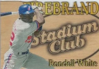 2014 Topps Archives Stadium Club Firebrand Rondell White