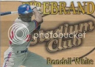 2014 Topps Archives Stadium Club Firebrand Rondell White