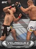2014 Topps UFC Knockout Base Card