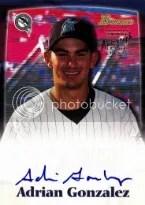 2000 Bowman Draft Adrian Gonzalez