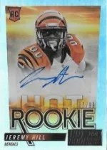 2014 Panini Hot Rookies Jeremy Hill Autograph RC #/99