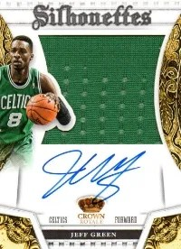 13/14 Panini Preferred Silhouettes Dee Brown