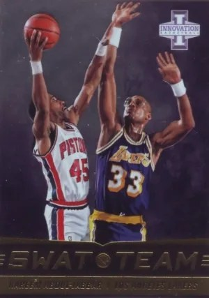 13/14 Panini Innovation Swat Team Kareem Abdul-Jabbar