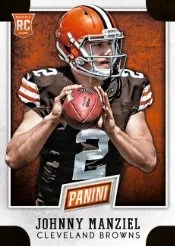 2014 Panini National Convention VIP Johnny Manziel RC