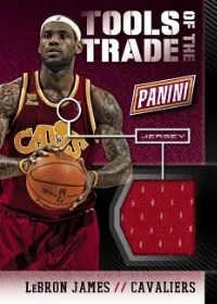 2014 Panini National Convention Tools of The Trade LeBron James Jersey