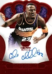 13/14 Panini Crown Royale Cedric Ceballos Auto REd