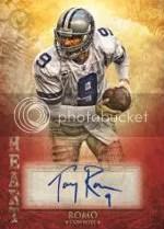 2012 Topps Valor Tony Romo Autograph