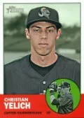 2012 Heritage Minor League Christian Yelich Sp
