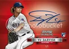2012 Bowman Sterling Yu Darvish Autograph
