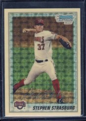 2010 Bowman Chrome Stephen Strasburg Superfractor 1/1