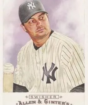 Nick Swisher 2009 Topps Allen & Ginter SP